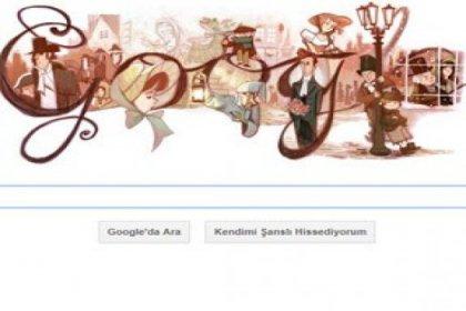 Google, Charles Dickens'a özel doodle!