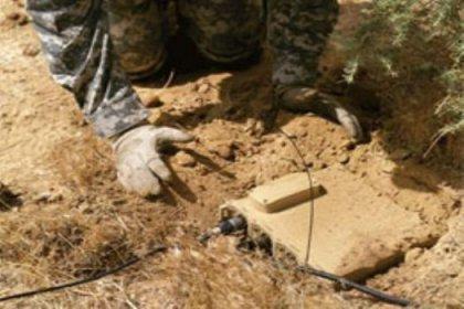 Güvençlik güçlerine bombalı tuzak
