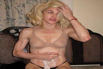 Hackerlar sonunda Madonna'yı da vurdu