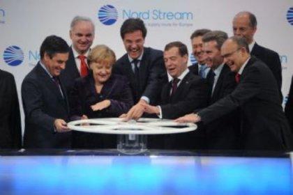 İlk Rus doğalgazı Avrupa'ya ulaştı
