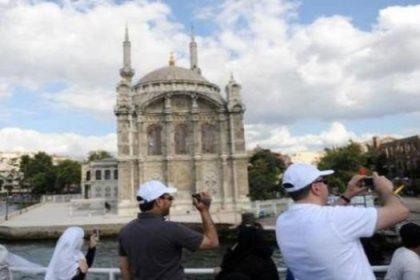 İstanbul'a gelen turist sayısı 8 milyona ulaştı