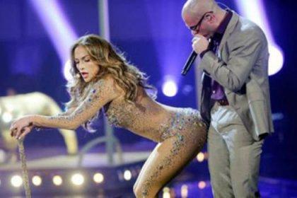 J-Lo sahnede coşturdu