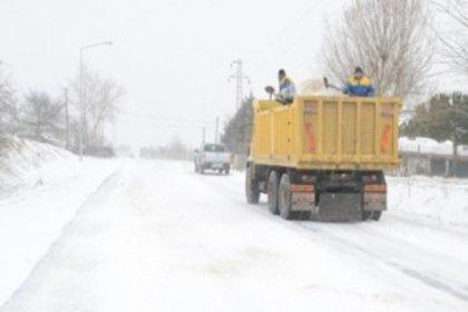 Kar Çalışmaları Sürüyor