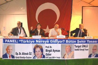 Kartal'da Birgül Ayman Güler Büyükşehir Yasasını anlattı