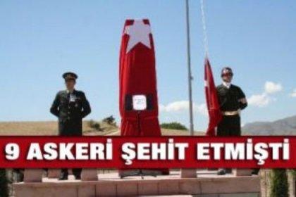 Kemah'ta 9 şehidin katili PJAK'çı öldürüldü