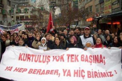 KESK'ten Grev ve Ankara Çağrısı
