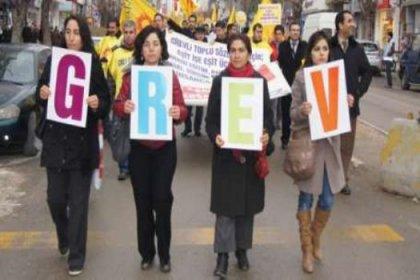 KHK demokrasisine karşı her yerde grev!