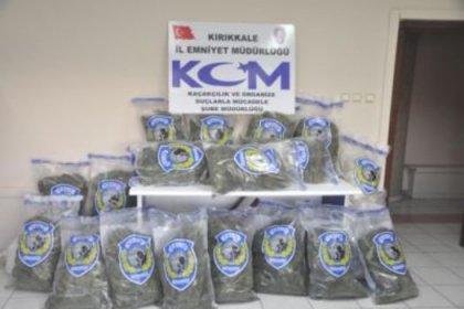 Kırıkkale'de106,5 Kilo Esrar, 4 Gözaltı
