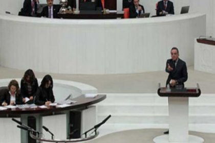 Meclis'te 'katliam' tartışması