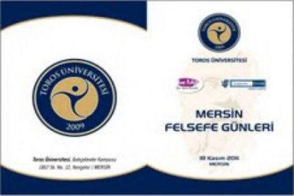Mersin Felsefe Günleri 18-19 Kasım 2011