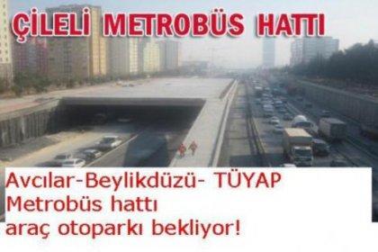 Metrobüs hattına otopark ihtiyacı var