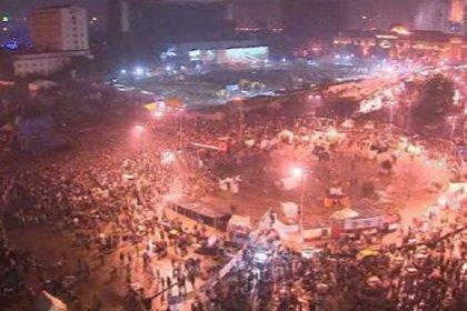 Mısır'da devrimin birinci yıldönümü