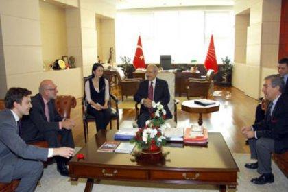 Norveç Büyükelçisi Kılıçdaroğlu'nu ziyaret etti