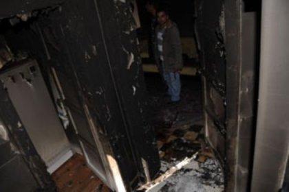 Öldürüp soydular, evini de yaktılar