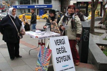 Özel vergilere karşı imza kampanyası