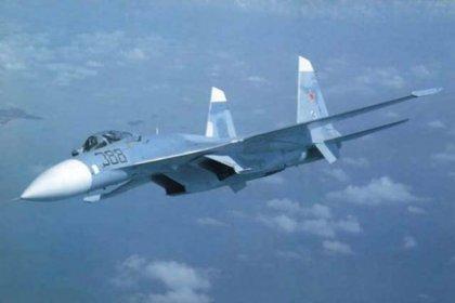 Rusya'ya ait savaş uçağı düştü