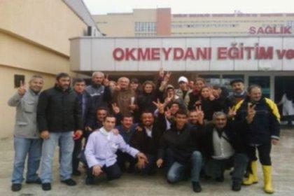 Samsun'da direnen işçilere destek