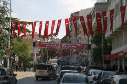 Silivri Bayraklarla Donatıldı