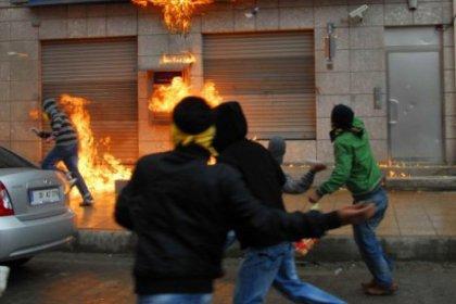 Şişli'de molotoflu saldırı