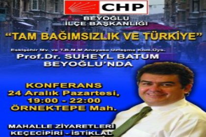 ''Tam bağımsızlık ve Türkiye''