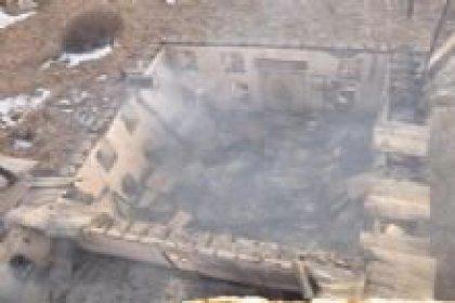 Tarihi cami yandı