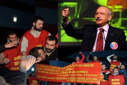 Taşeron İşçilerden CHP'ye Ziyaret