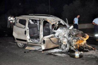 TIR otomobili biçti: 2 ölü, 3 yaralı