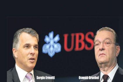 UBS'in CEO'su Gruebel istifa etti