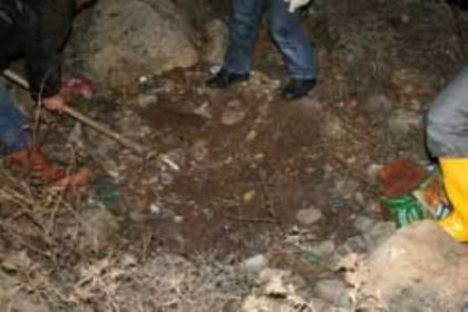 Yol kenarında ceset bulundu