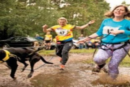Zayıflamak için köpekli koşu
