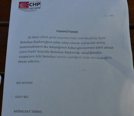 CHP Beşiktaş İlçeden Örnek Davranış