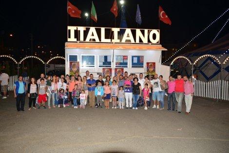 Çorlu Gazeteciler Derneği Ailesi Circo İtaliano'yu İzledi