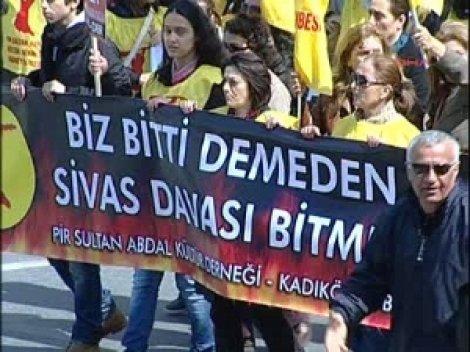 Kadıköy'de 'Alevi Mitingi'