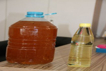 5 litre yağa 1 litre ayçiçek yağı