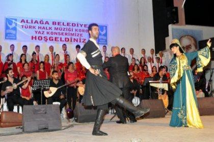 Aliağa Türkü Gecesi'ne hazır