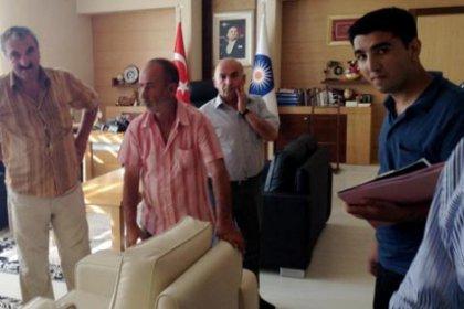 Antalya'da Akaydın'ın eşyalarına haciz!