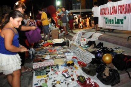 Antalya'da Gezi pazarı: Her şey bedava
