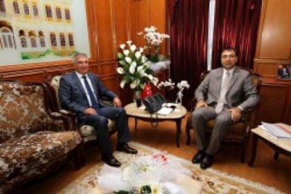 Başkan Durak'tan valiye hoşgeldin ziyareti