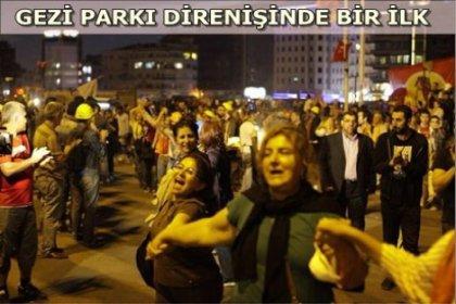 'Çapulcu anneleri' Gezi Parkı'nda!