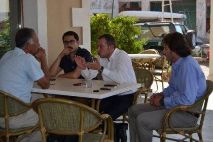 CHP Gençlik Kolları Başkanı İrfan Yıldız Genç Sosyalistler Kampında