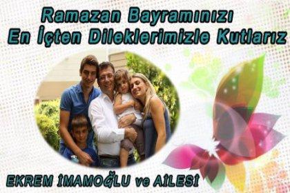 Ekrem İmamoğlu, Bayram mesajı yayınladı