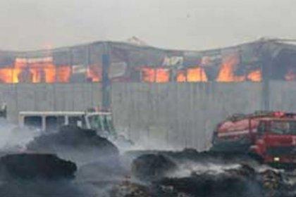 Geyve'de havai fişek fabrikasında patlama