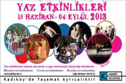 Kadıköy parklarında müzik dolu geceler