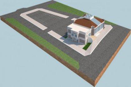Mimar Sinan Salonu inşaatı sürüyor