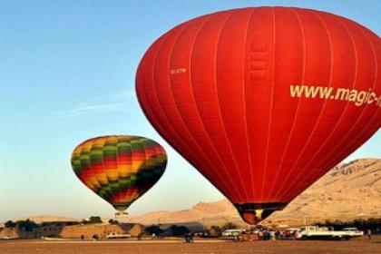 Mısır'da balonlar yeniden havalandı