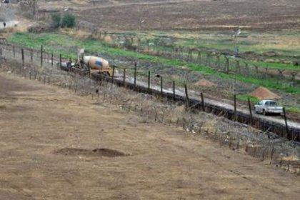 Nusaybin'de duvar inşaatı tekrar başladı