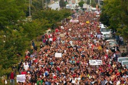 Samsun'da 82 üniversite öğrencisine, 'Gezi'ye katıldın' ihracı