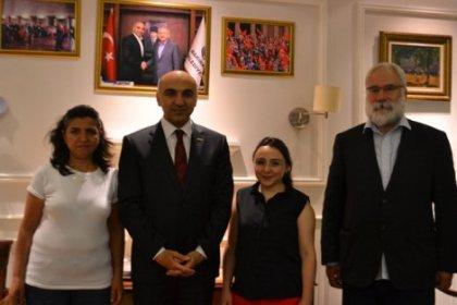 Berkin Elvan'ın ailesinden Bülent Kerimoğlu'na ziyaret