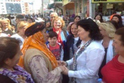 CHP Kadın Kolları Hacıbektaş'ta…