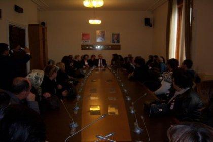 Hayrabolulu CHP'li Kadınlar Ankara'ya çıkarma yaptı